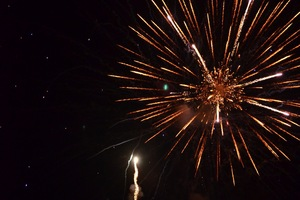 Fireworks over Onatru Park, Syracuse will host at least ten firework shows on Independence Day.